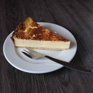 baked egg custard