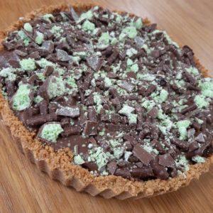 Mint chocolate, brownie crunch